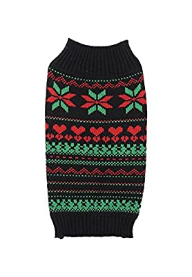 Rosewood Fair Isle Cosy Christmas Jumper for Dogs