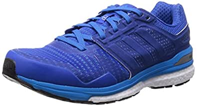 adidas Men's Supernova Sequence Boost 8 Sneakers Blue Size