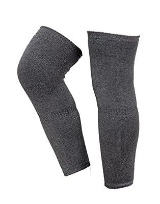 Krystle Women's Wool Warm Winter Protective Knee Cap (Grey, Free Size)