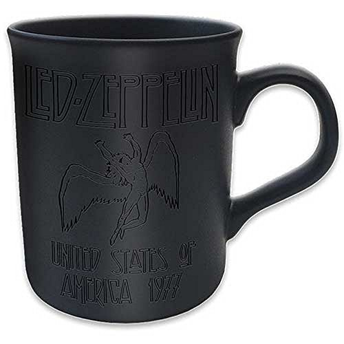 Led Zeppelin - Keramik Tasse - USA Tour 77 - Matt - Geschenkbox -