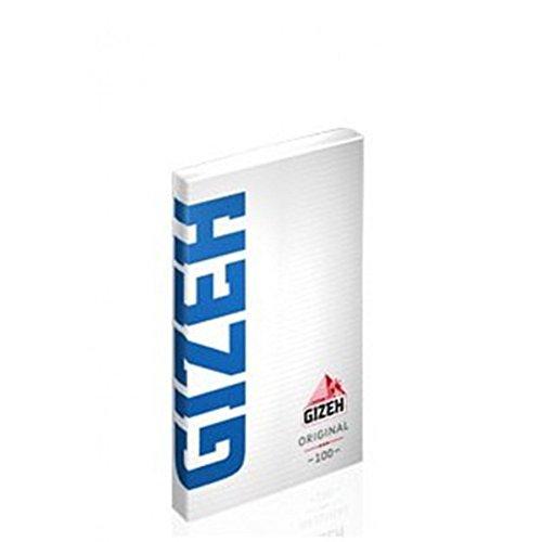 10 PEZZI CARTINE CORTE LUNGHE GIZEH SPECIAL BLU VERDI KING SIZE SUPER FINE - CORTE BLU CLIP...