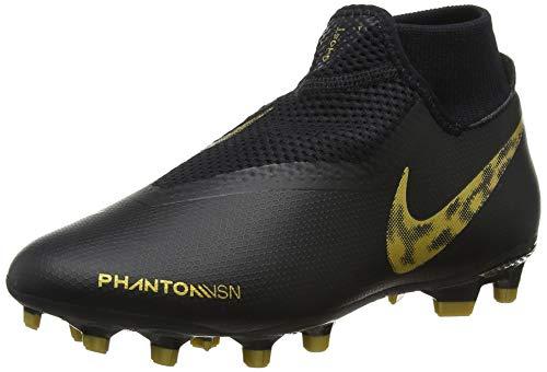 big sale 3623a 86800 Nike Unisex-Erwachsene Phantom VSN Academy Dynamic Fit MG Fußballschuhe  Mehrfarbig (Black MTLC