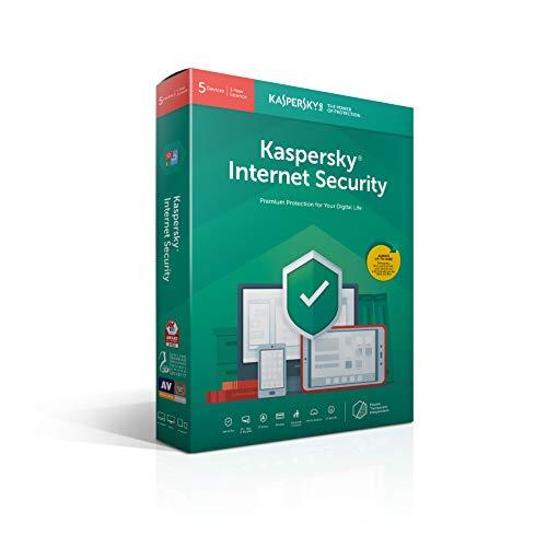 Kaspersky Internet Security 2019 | 5 dispositivos | 1 año | Código en el cuadro | original
