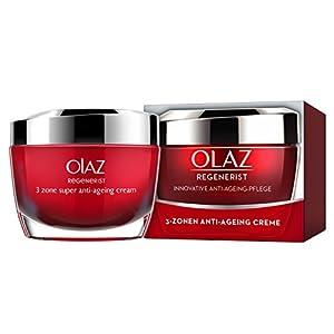 Olaz Regenerist 50 ml 3 Zona de Super Skin Crema Reafirmante, 1 Paquete (1 x 1 Artículo)
