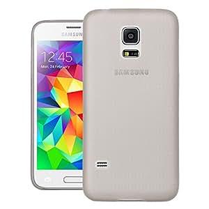 Quicksand Air skin Super Thin Matte Finish Anti Slip Back Case Cover for Samsung Galaxy S5 mini Duos Grey