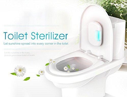 Home Care Wholesale® Toilette Desinfektion mit UV Licht und Ozon Technologie für 100% Sterilisation Perfekt für Business, Universität, Home Use Ultraviolette Keimtötende Lampen