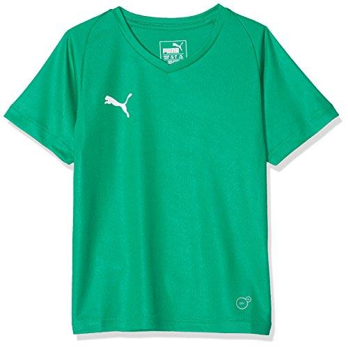 PUMA Kinder Liga Core Jersey, Pepper Green White, 128 (Puma Kleidung Für Jungen)