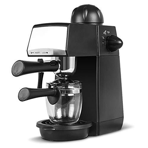 Gaone Macchina da caffè con Montalatte Retro Pump Macchina per caffè Espresso Macchina per Schiuma Macchina per Il Latte Cappuccinatore E Latte Macchiato Ideale per La Cucina di Casa