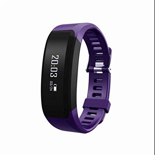 Fitness Armband Pulsmesser Fitness Tracker Sport Armbanduhr Aktivitäts tracker Pedometer Romte Capture Sleep Monitor mit Distanz Datum und Uhrzeit Aktivitätstracker für Android und IOS