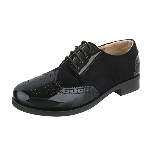 Ital-Design - Zapatos Hombre , color Negro, talla 41 UE