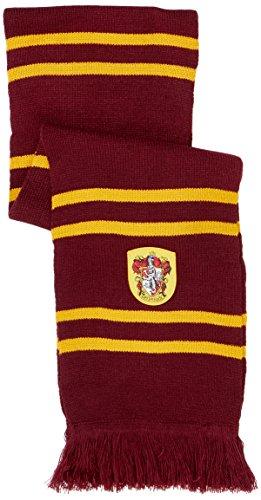 41TWF%2BEfmmL - Cinereplicas - Harry Potter - Bufanda - Ultra Suave - Licencia Oficial - Casa Gryffindor - 190 cm - Rojo Vivo y Negro