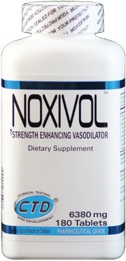 Noxivol, Tablets booster nitric oxide - 180 tablets by CTD Labs mm from CTD Labs