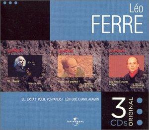 Coffret 3 CD : Et... Basta / Poète, vos papiers ! / Léo Ferré chante Aragon
