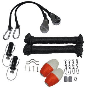 Premium Black Outrigger Rigging Kit by Taco -