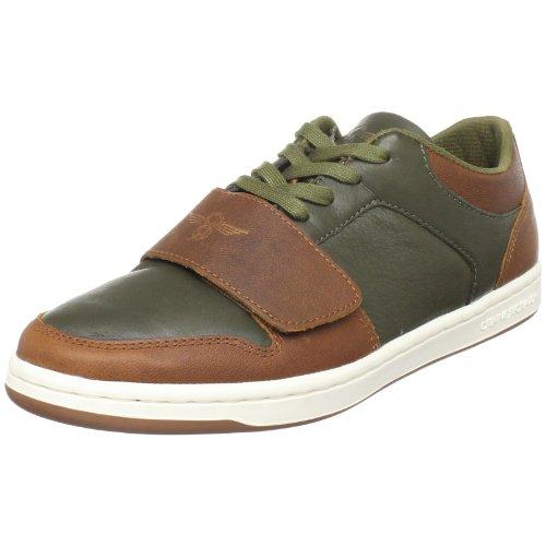 Creative Recreation Men's Cesario Low Sneaker,Military/Brown,8.5 D (Creative Recreation Lo Cesario)