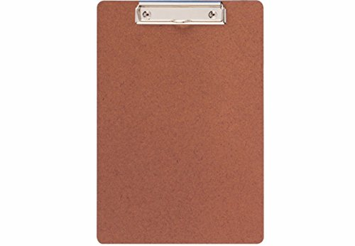 8er Sparpack A4 Schreibplatte Hartfaser, Farbe: Holz (8)