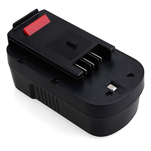 Preisvergleich Produktbild Black & Decker HPB18, FLAGPOWER Werkzeug Akku für Black & Decker HPB18 HPB18-OPE 244760-00 A1718 A18 A18E Firestorm FS180BX FS18BX FS18FL FSB18 NST2118 Ni-CD Batterie (3000mAh)