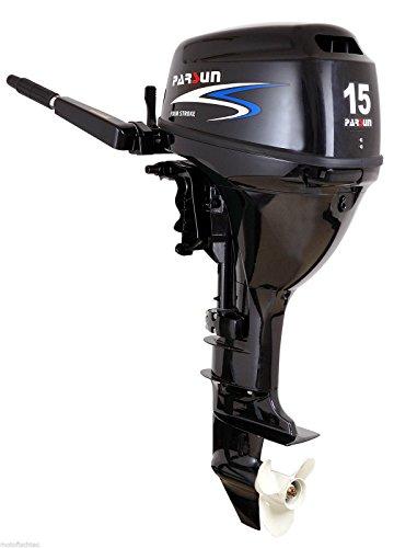 Außenborder Parsun F15 BWS: 15 PS Kurzschaft mit E-Start, Bootsmotor, Außenborder, Flautenschieber