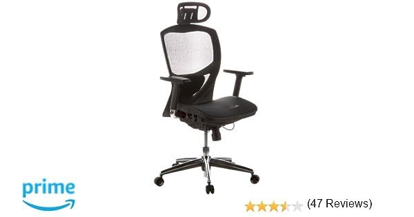 Hjh office 657000 sedia da ufficio sedia girevole venus one mesh