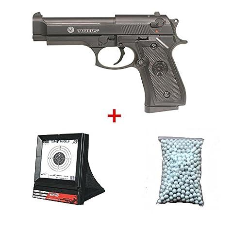 Cible Pistolet A Bille - Pack Cadeau Cybergun Taurus PT92 / M9