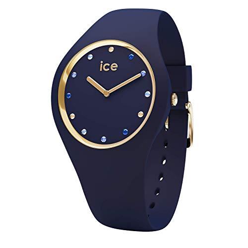Ice Watch Unisex Erwachsene Analog Quarz Uhr mit Silikon Armband 016301