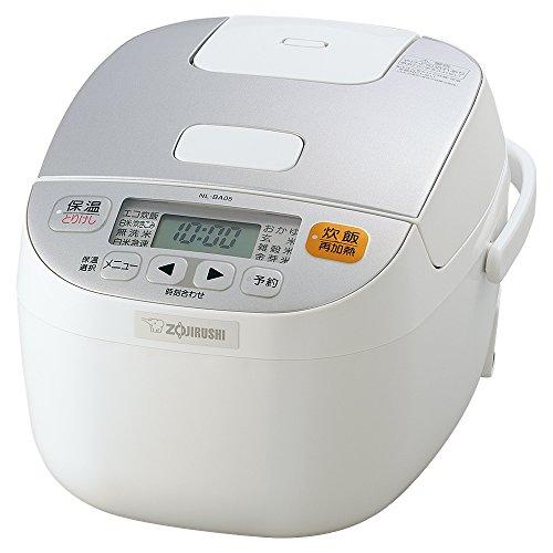 ZOJIRUSHI Reiskocher Mikrocomputer Formel–3Personen–Weiß nl-ba05-wa (Japan Import)