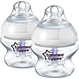 Tommee Tippee Closer to Nature Advanced Comfort 150 ml/5fl oz Feeding Bottles (2-Pack)