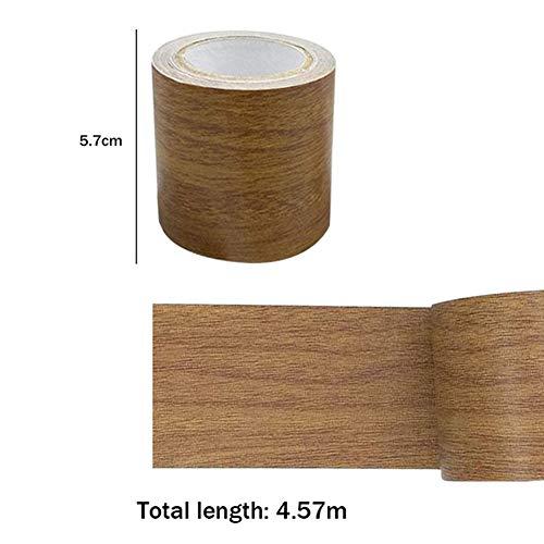Kegiit Woodgrain Repair Tape Patch Holzstrukturiertes Möbelklebeband Starke Klebrigkeit Wasserdicht