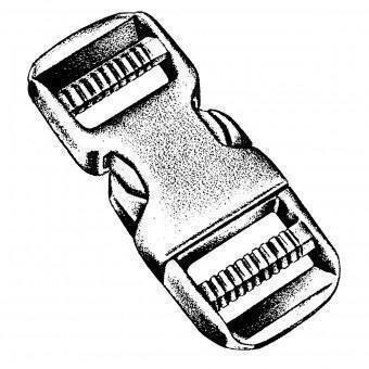 Double Boucle, 50 mm, 1 piece. peigne - National Molding