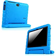 Fintie Kiddie funda case Carcasa Funda para 7pulgadas Android Tablet PC incluye. Dragon Touch Y88X 7pulgadas Tablet PC, trimeo 7pulgadas Tablet PC, Ares Park Ultrathin 7pulgadas Tablet PC, yuntab 7pulgadas Y88Tablet PC, NINETEC 7pulgadas Tablet PC, EAGLERISE eTech 7Inch Tablet PC, PHROG7Tablet PC (7pulgadas), Rixow Ultrathin 7Inch Tablet PC, jeja 7pulgadas Android Google Tablet PC, Rotor® 17,8cm (7pulgadas) Android Tablet PC, azul 7 Zoll Tablet (Kiddie Handle)