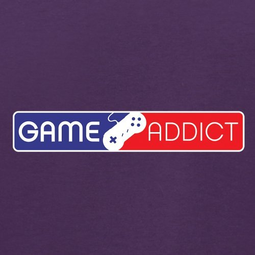 Game Addict - Herren T-Shirt - 13 Farben Lila