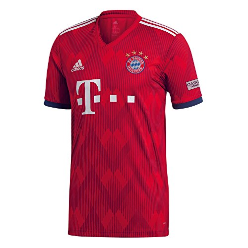 adidas Herren H JSY T-Shirt, FCB True Strong red f11/White, 3XL