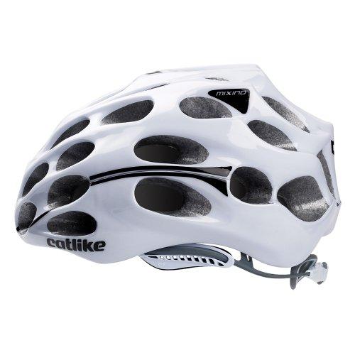 Catlike Mixino - Casco de ciclismo, color blanco brillo, talla LG (58-60 cm)