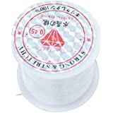 SUPVOX Crystal String Beading Thread Nylon Line Rope for Jewellery Making Crafts 0.45mm
