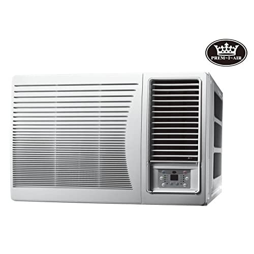41TWPSzTj6L. SS500  - Prem-I-Air 9000 BTU DC Inverter Window Air Conditioner with Remote Control & Timer,