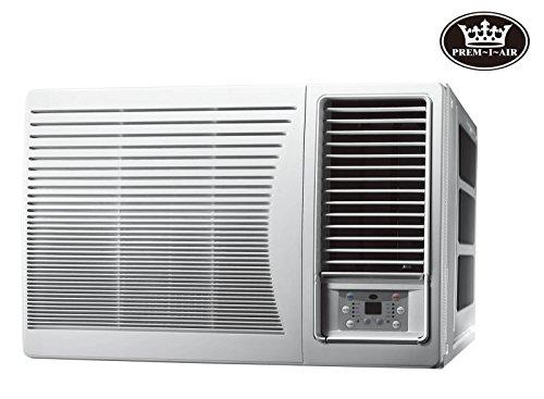 41TWPSzTj6L - Prem-I-Air 9000 BTU DC Inverter Window Air Conditioner with Remote Control & Timer,