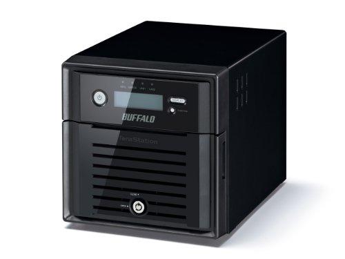 Buffalo TS5200DWR0602-EU TeraStation 5200 WD RED NAS-Server 6TB (2X 3TB, 2X Gigabit, RAID 0/1) schwarz | 4981254027998