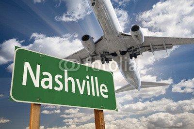 Bild Nashville Von (Alu-Dibond-Bild 140 x 90 cm: