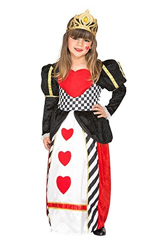 Fyasa 706500-t01Königin der Herzen Kostüm, Mittel