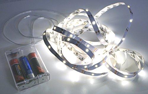 CBK-MS - SMD Strip Batteriebetrieb mit 90 LEDs 3m wasserdicht LED Lichtband