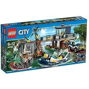 LEGO City Police 60069 - La Caserma della Polizia nelle Paludi  LEGO