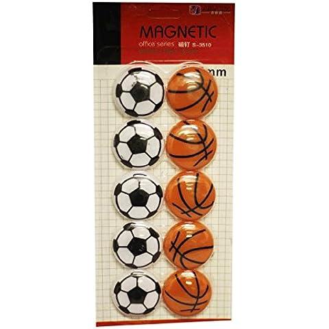 Baloncesto SystemsEleven Shankly imanes recordatorios frigorífico pegajoso pizarra magnética
