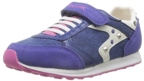 Geox - J Eliott A, Sneaker Bambina Viola (Royal)