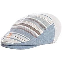 Baby BabyPrem Baby Jungen Hut Mütze Kappe Gestreift Blau Weiss Babykleidung 56-88cm