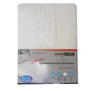 Homescapes Mattress and Pillow Protector Fully Fitted Hypoallergenic and Dust Mite Proof