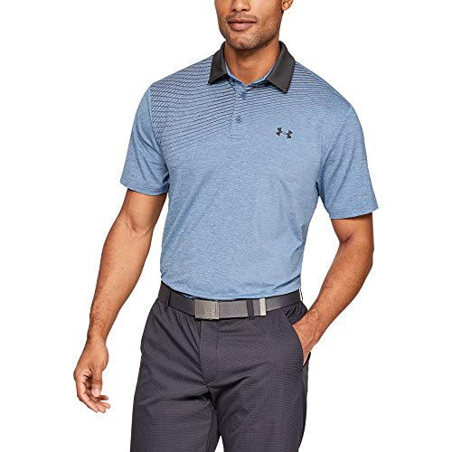 Under Armour Playoff Polo 2.0 Chemise Homme, Bleu (Thunder Jet Gray (410), XXL