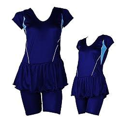 Branded Women Swimwear Frock with half Sleeves and Half legs