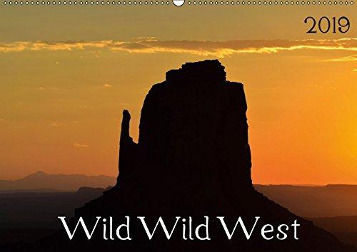 Wild Wild West (Wandkalender 2019 DIN A2 quer): Wunderschöne Landschaftsaufnahmen aus dem