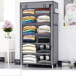 2001 International Multivalent Grey Storage Rack for Home, Kitchen & Furniture, with 6 Brackets
