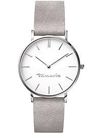 Tamaris Damen-Armbanduhr Daniela Analog Quarz Leder B01013010